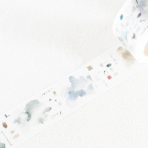 Liang Feng Washi Tape - Grey - MTW-LF075