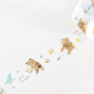 Liang Feng Washi Tape - Spring Bear - MTW-LF076