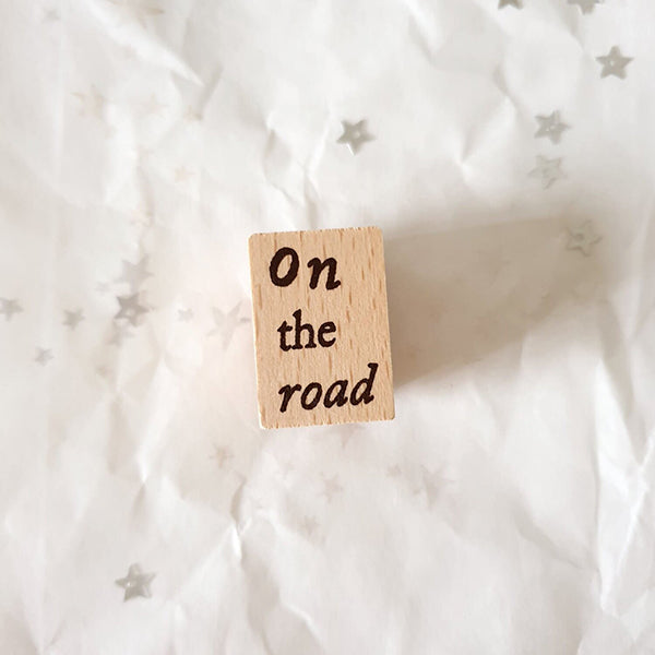 Yeon Charm Rubber Stamp - On The Road