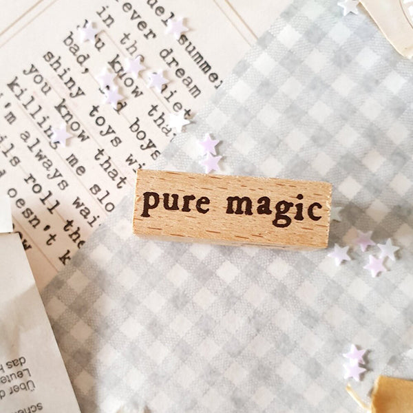 Yeon Charm Rubber Stamp - Pure Magic