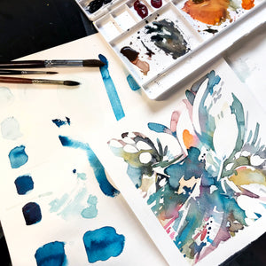 Meditative Abstract Painting Workshop