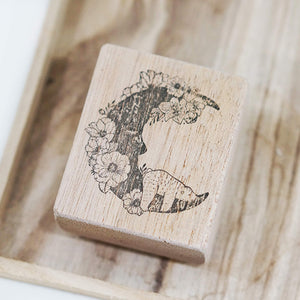 Black Milk Project Rubber Stamp - Moon Bear