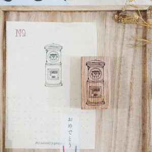 Black Milk Project Rubber Stamp - Japan Post Box