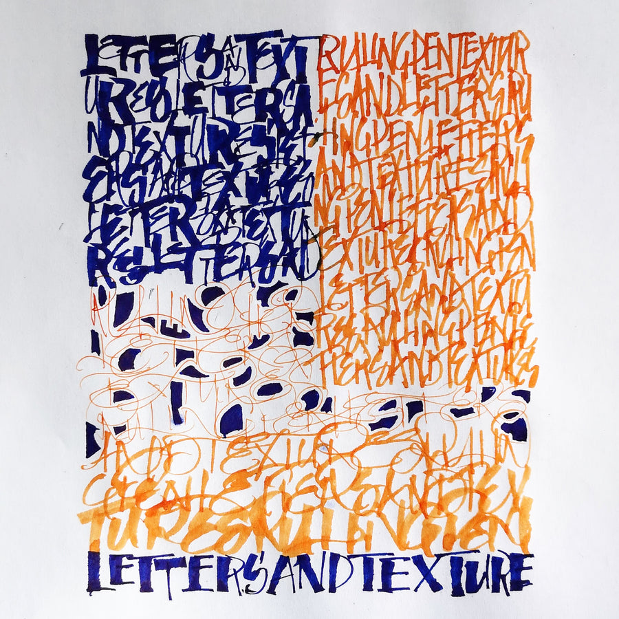 Letters and Textures Workshop