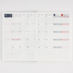 Pre Order: Hobonichi Techo Cousin Avec Planner Books - January 2021 Start