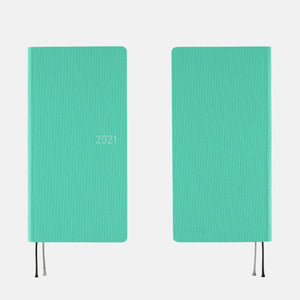 Hobonichi Techo Weeks MEGA - Colors: Mint - 2021 January Start