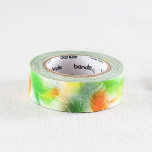 Bande Green Feather Washi Tape