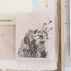 PRE ORDER: Black Milk Project Rubber Stamp - Secret Garden