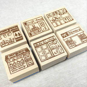 Chamil Garden Wood Rubber Stamps - Shop Collection