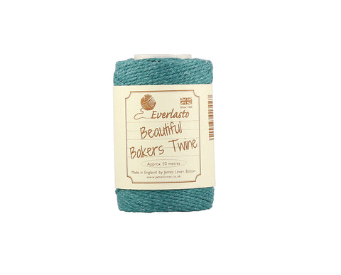 Solid Eton Blue Baker's Twine - 50m Spool from Everlasto