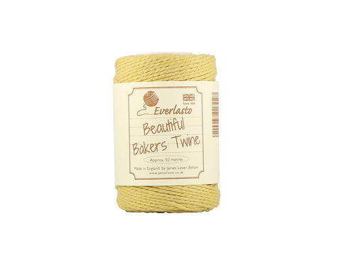 Solid Sand Baker's Twine - 50m Spool from Everlasto