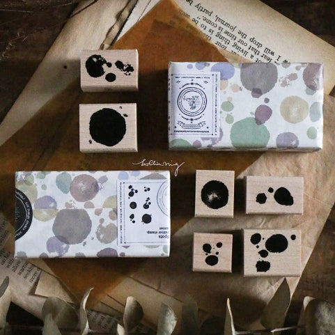 Lin Chia Ning Pre Order - Spots Stamp Set