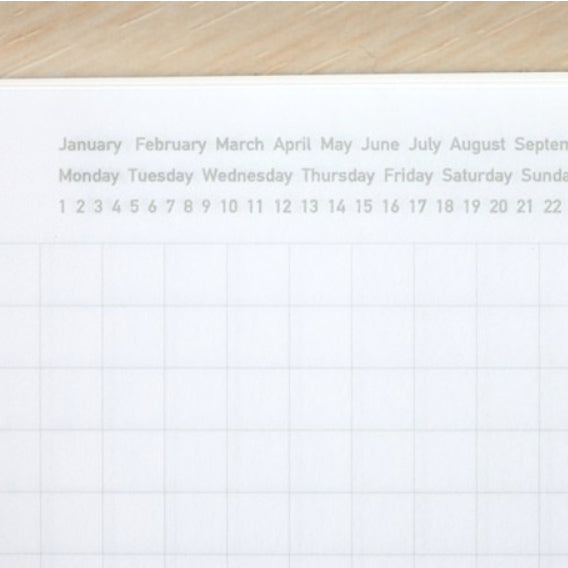 Stalogy 365 Days Notebook A5 - Black