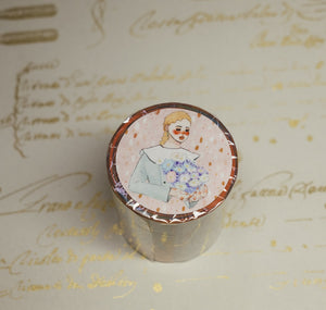La Dolce Vita Die Cut Wide Washi Tape - Waiting For Your Letter