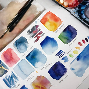 Synesthesia: Mindfulness Through Our Senses With Watercolours - A Workshop With Coco Bee Art