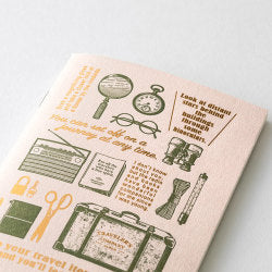 Traveler's Company Travel Tools - Passport Size Refill - Traveler's Notebook