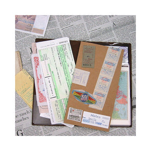 Traveler's Notebook Refill 004 - Accessories - Pocket Sticker Set