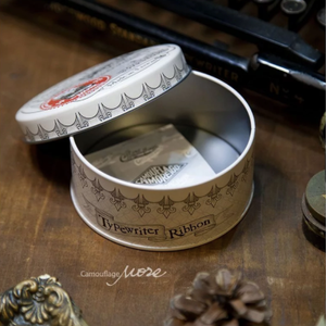 Lin Chia Ning Storage Tins - Old Style Company Series Typewriter Ribbon
