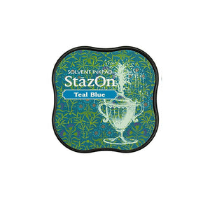 TSUKINEKO StazOn Teal Ink Pad