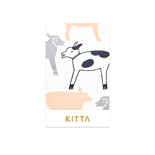 King Jim Kitta Seal Stickers - Farm - KIT 029