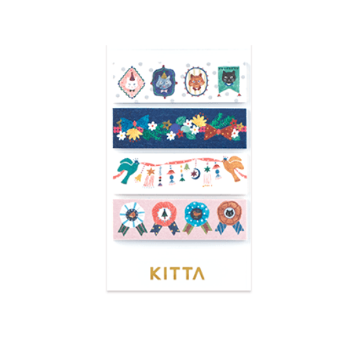 King Jim Kitta Seal Stickers - Kazari - KIT 038