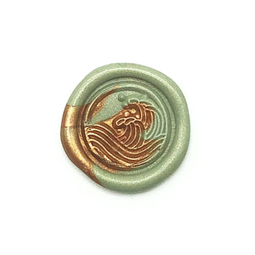 Wax Seal Stamp - Mister Robinson - Wave Mini - 12mm