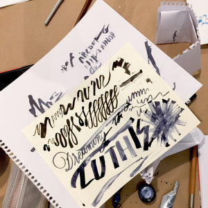Monthly Calligraphy Meetup