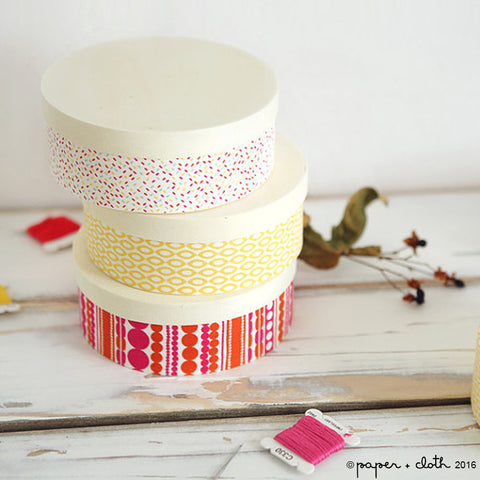 Yellow Fabric Sticker Sheet - Dailylike Ice Cream Cone