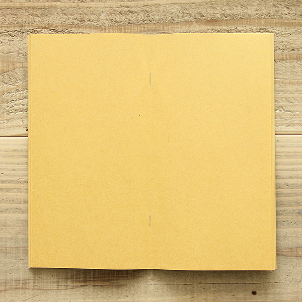 TRAVELER FACTORY  Craft Yellow (07100130) Traveler's Note Refill