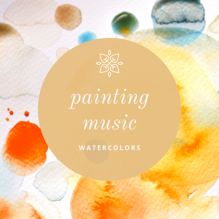 ONLINE Watercolor Workshop - Painting to Music With CocoBee Art