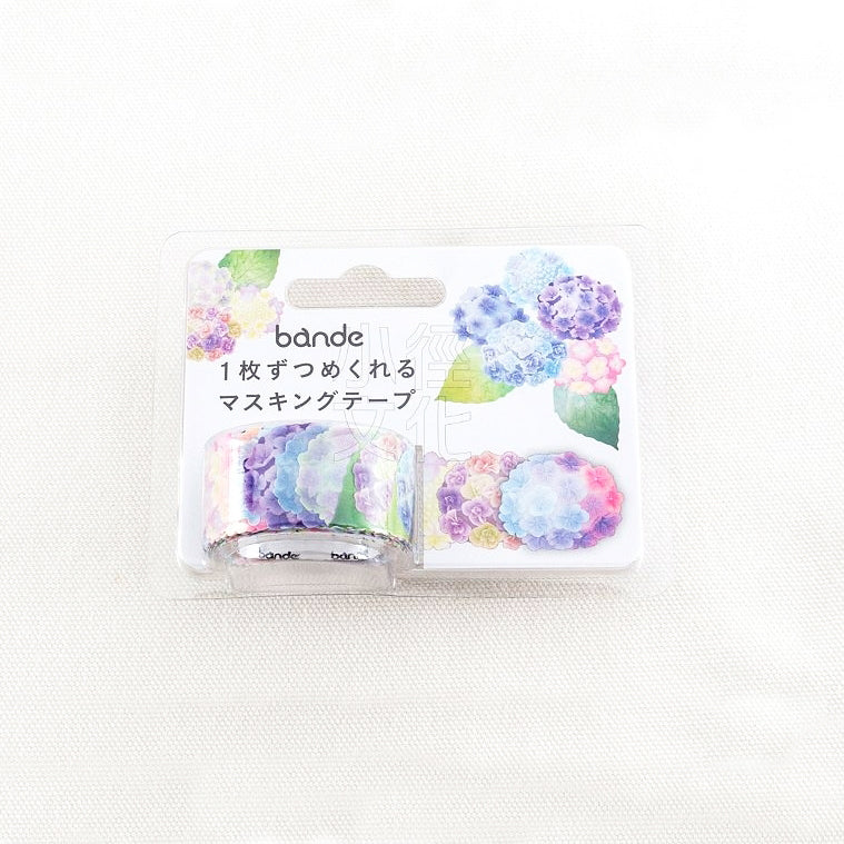 BANDE Hydrangeas BDA 276 Washi Paper Sticker Roll