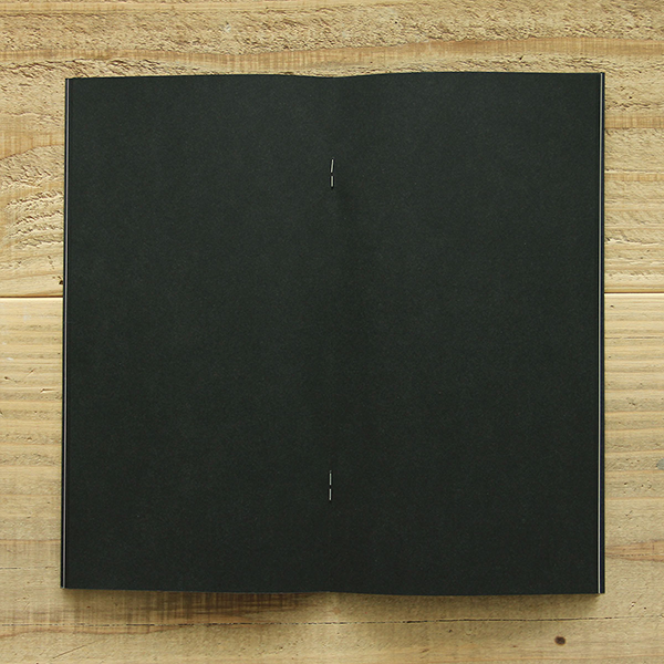 TRAVELER FACTORY Craft Black (07100133) Traveler's Note Refill