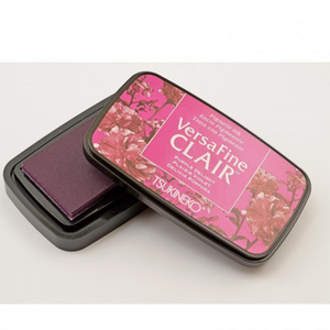 TSUKINEKO - Bright Grape Purple Delight (101) Quick-drying Oil-based Pigment Stamp Pad