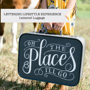 Lettered Luggage Workshop - A Lettering Lifestyle Experience with Love Lettering's Doris Wai