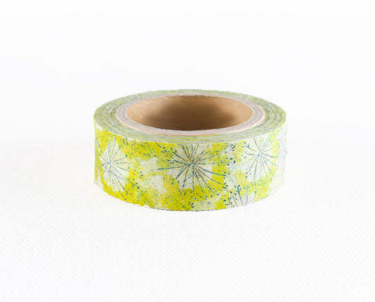 Chamil Yellow Washi Tape - Common Fennel MTW-CH054