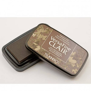 TSUKINEKO Versa Fine Claire Ink Pad - Fallen leaves (451) Quick-drying Oil-based Pigment Stamp Pad