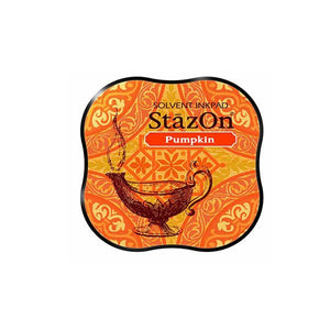 Tsukineko StazOn Pumpkin Ink Pad