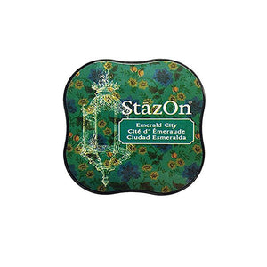 TSUKINEKO StazOn Emerald City Ink Pad