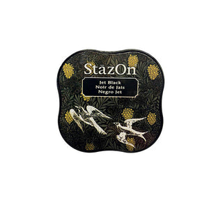 TSUKINEKO StazOn Jet Black Ink Pad