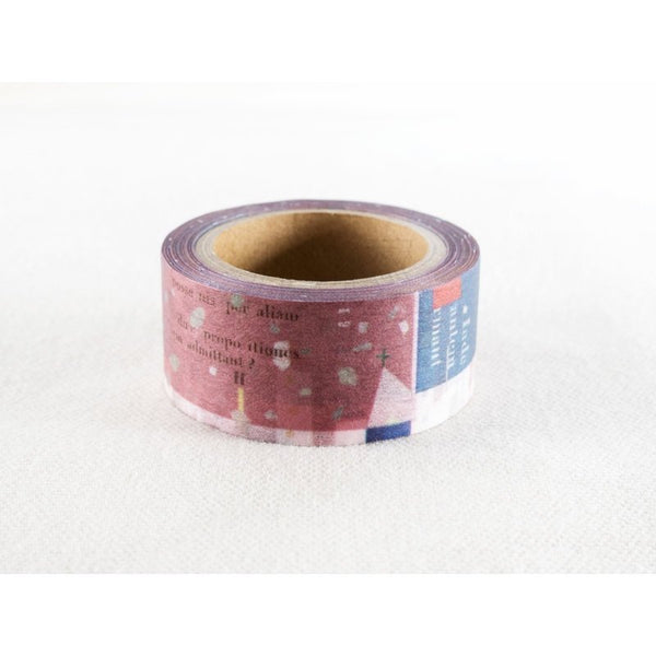 Chamil Garden Washi Tape MTW-CH296 - Winter 2018 Christmas - Ruo Song