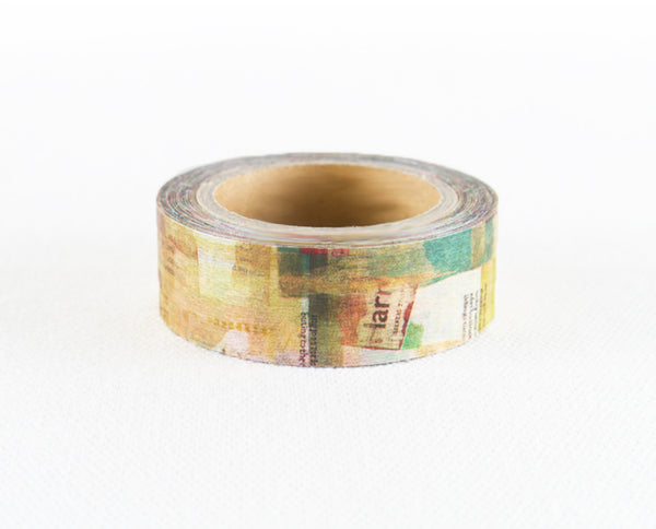 Chamil Garden Washi Tape Watercolor - Simple Life MTW-CH051