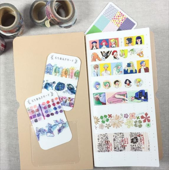 Washi Tape Catalog Storage Folder