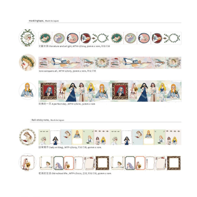 La Dolce Vita Limited Edition Washi Tapes - Kaohsiung Exhibition