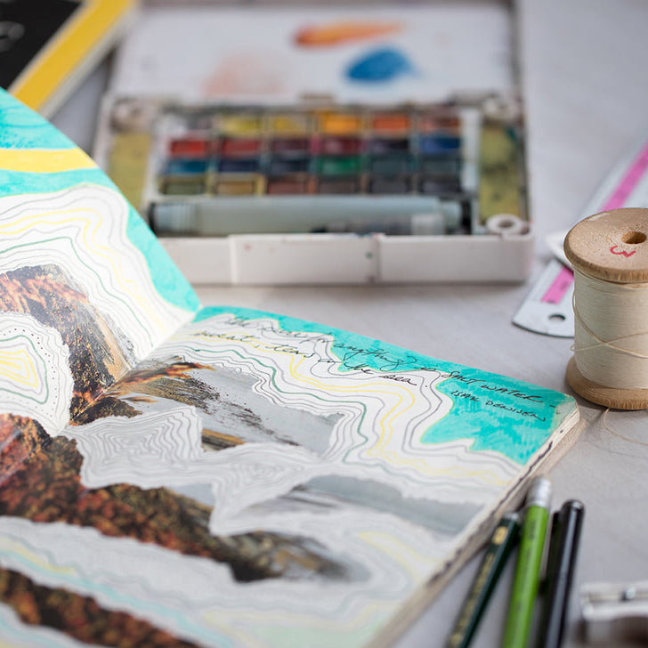 Art Journaling As Creative Ritual With Multidisciplinary Artist Marina Dempster