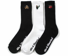 Basic Socks (3 Pack)