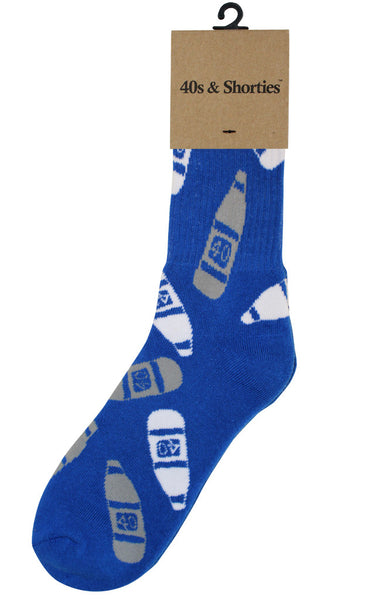 40s (Blue & White) Socks