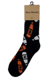 40s (Black & Orange) Socks