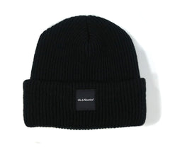 General Text Logo Label Beanie