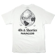 NARCOS x 40s & Shorties Cover The Earth Tee
