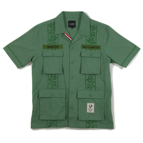 NARCOS x 40s & Shorties Search Bloc Shirt